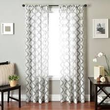 Bed Bath And Beyond Sheer Window Curtains by Target Grayson Grommet Window Panels In White 84