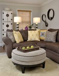 lovely living room decor with brown furniture survivedisxmas com