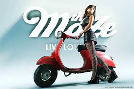 Vespa In The Maze Photography Photomanipulation Featured Fashion Photo