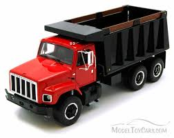 100 Diecast Truck Models International Harvester SSeries Dump Red First Gear