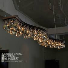 European Style Modern Chandelier Lamp Crystal Iron American Vintage Nordic Restaurant Bar Home Lighting In Chandeliers From Lights