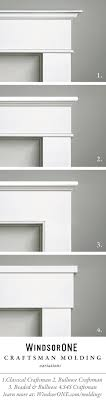 34 best Classical Craftsman Moldings images on Pinterest