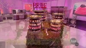 Halloween Cake Wars Judges by Cupcake Wars Champions Brave Episode On Vimeo