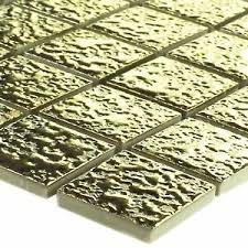 mosaikfliesenmatte in gold günstig kaufen ebay
