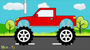 Red Monster Truck - Monster Trucks For Children - Video For Kids ... Monster Trucks Teaching Children Shapes And Crushing Cars Watch Custom Shop Video For Kids Customize Car Cartoons Kids Fire Videos Lightning Mcqueen Truck Vs Mater Disney For Wash Super Tv School Buses Colors Words The 25 Best Truck Videos Ideas On Pinterest Choses Learn Country Flags Educational Sports Toy Race Youtube Stunts With Police Learning