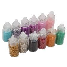 MMdex White 50Pcs 5g Volume Plastic Sample Bottle 5ML Small Bottle