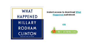 What Happened by Hillary Rodham Clinton audiobooks on iphone