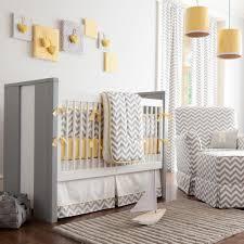 Box Pleat Bed Skirt by Gray And Yellow Zig Zag Crib Skirt Box Pleat Carousel Designs
