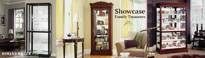 howard miller curio display cabinets for collectibles