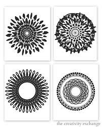 4 Best Images Of Free Printable Modern Art Famous Abstract Black And White Prints Printables