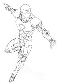 Iron Man Dynamic Line Art By RoboSol