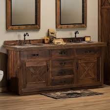 Rustic Bathroom Vanities Style