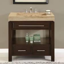 18 Inch Bathroom Vanity Top by Amazon Com Silkroad Exclusive Dark Walnut Stone Top Single Sink
