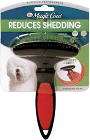 Dog Horse Shedding Blade by Four Paws Magic Coat Shedding Rake For Dogs Chewy Com