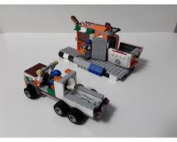 100 Lego Recycling Truck LEGO MOC11992 60118 Center Town City 2018