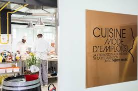 emploi cuisine l école cuisine mode d emploi s de thierry marx en images