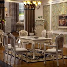 Light Wooden Antique Dining Room Set – My Aashis