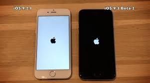 iOS 9 3 Beta 2 Vs iOS 9 2 1 iPhone 6 5s 5 4s parison Video