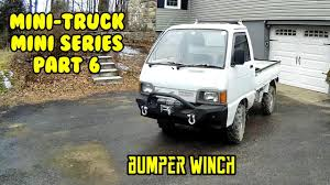 100 Hijet Mini Truck Mini Series Front Jeep Winch Bumper Fab Paint And