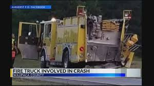 100 Fire Truck Accident Truck Rear Ended By SUV In Waupaca County