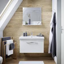 waschtischkombination in weiß inkl spiegel