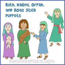 Naomi Ruth Boaz And Orpah Paper Dolls From Daniellesplace