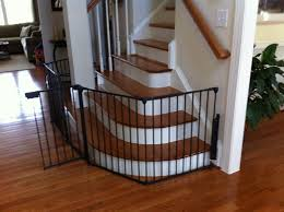 Elegant Black Baby Safety Gate For Stairs Design Ideas With Curved ... Diy Bottom Of Stairs Baby Gate W One Side Banister Get A Piece The Stair Barrier Banister To 3642 Inch Safety Gate Baby Install Top Stairs Against Iron Rail Youtube Diy For With Best Gates For Amazoncom Regalo Of Expandable Metal Summer Infant Universal Kit Walmart Canada Proof Child Without Drilling Into Child Pictures Ideas Latest Door Proofing Your Banierjust Zip Tie Some Gates Works 2016 37 Reviews North States Heavy Duty Stairway 2641 Walmartcom