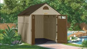 Suncast Horizontal Storage Shed Assembly by 497 Cu Ft Brookland 7 X 10 Storage Shed Suncast Corporation