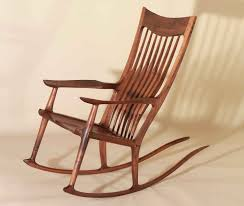 sam maloof rocking chair class crafted sam maloof style rocking chairs by j blok studios