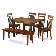 Shop PSCA6C-MAH Mahogany Finish 4-chair And Dining Bench 6-Piece ... Shop Psca6cmah Mahogany Finish 4chair And Ding Bench 6piece Three Posts Remsen Extendable Set With 6 Chairs Reviews Fniture Pating By The Professionals Matthews Restoration Tustin Chair Room Store Antoinette In Cherry In 2019 Traditional Sets Covers Leather Designs Dark Superb 1960s Scdinavian Design Rose Finished Teak Transitional Upholstered Mahogany Ding Room Chairs Lancaster Table Seating Wooden School House Modern Oval Woptional Cleo Set Finish Home Stag Extending Table 4