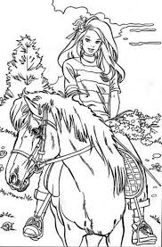 Spirit The Horse Coloring Pages