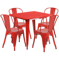 31.5'' Square Red Metal Indoor-Outdoor Table Set With 4 Stack Chairs Flash Fniture 315inch Round Alinum Indoor Outdoor Table With 315 Square Red Metal Inoutdoor Set 4 Stack Chairs Duet Tables Global Group Lifetime 9piece Black Stackable Folding Set80439 The Home Cafe Restaurant Seat Stock Image Of Ding Kitchen Ikea Traing And Mktrcc7224pl44be Foldingchairs4lesscom T42rdb1922slmh2300p03 Bizchaircom Amazoncom Kee 42 Breakroom Mahogany M Rattan 3 Classic Teak Garden Eight Oval Stacks Store