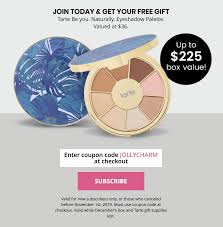 BOXYCHARM Coupon: FREE Tarte Palette With December ... 3050 Reg 64 Tarte Shape Tape Concealer 2 Pack Sponge Boxycharm August 2017 Review Coupon Savvy Liberation 2010 Guide Boxycharm Coupon Code August 2018 Paleoethics Manufacturer Coupons From California Shape Tape Stay Spray Vegan Setting Birchbox Free Rainforest Of The Sea Gloss Custom Kit 2019 Launches June 5th At 7 Am Et Msa Applying Discounts And Promotions On Ecommerce Websites Choose A Foundation Deluxe Sample With Any 35 Order Code 25 Off Cosmetics Tarte 30 Off Including Sale Items