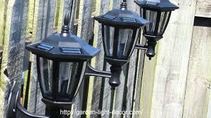 2 pk outdoor garden solar wall mount landscape solar light brand