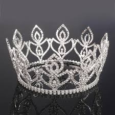 2016 extravagant bridal hair tiaras crowns wedding full diamonds