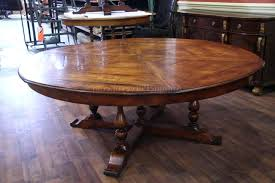 Attractive Rustic Round Dining Table For 8 With Create Warm Setting Room Tables Awesome Trends Inspirations