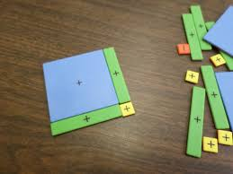 Online Algebra Tiles Factoring by Math U003d Love Completing The Square Interactive Notebook Page
