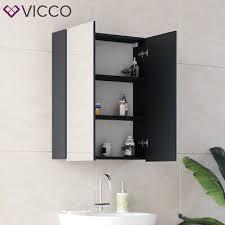 vicco spiegelschrank freddy weiß spiegel badspiegel
