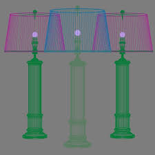 Frederick Cooper Table Lamps Brass by Frederick Cooper Leather Column Table Lamp 3d Model Max Obj 3ds
