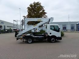 100 240 Truck Palfinger P A X E Mounted Aerial Platforms Year Of
