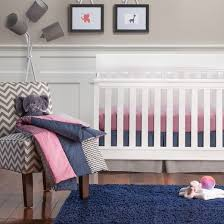 Trend Lab 3pc Crib Bedding Set – Perfectly Pretty Tar