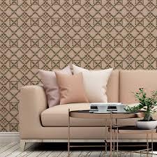 klassische tapete bambusgitter rosa historische vlies tapete für wohnzimmer