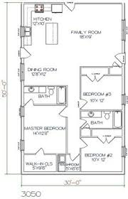 Barndominium Floor Plans 40x50 by 30 X 50 House Plans House Plans Pinterest House Barn And