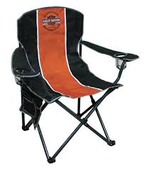 Reclining Camping Chairs Ebay by Harley Davidson Compact Folding Camp Chair Ch31264 Ebay