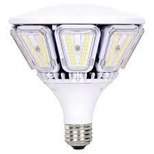 led post top 40 watts 3000k medium base 100 277 volts