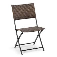 Hometrends Steel Wicker Folding Chair | Walmart Canada