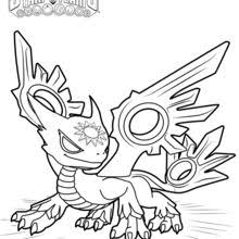 Thunder Bolt Spotlight Coloring Page