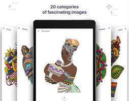 Coloring Book For Me Mandala Image