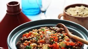 cuisine nord africaine spécialité nord africaine d agneau pois chiches et couscous