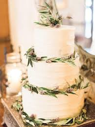 Small Three Tier Buttercream And Lavender Wedding Cake